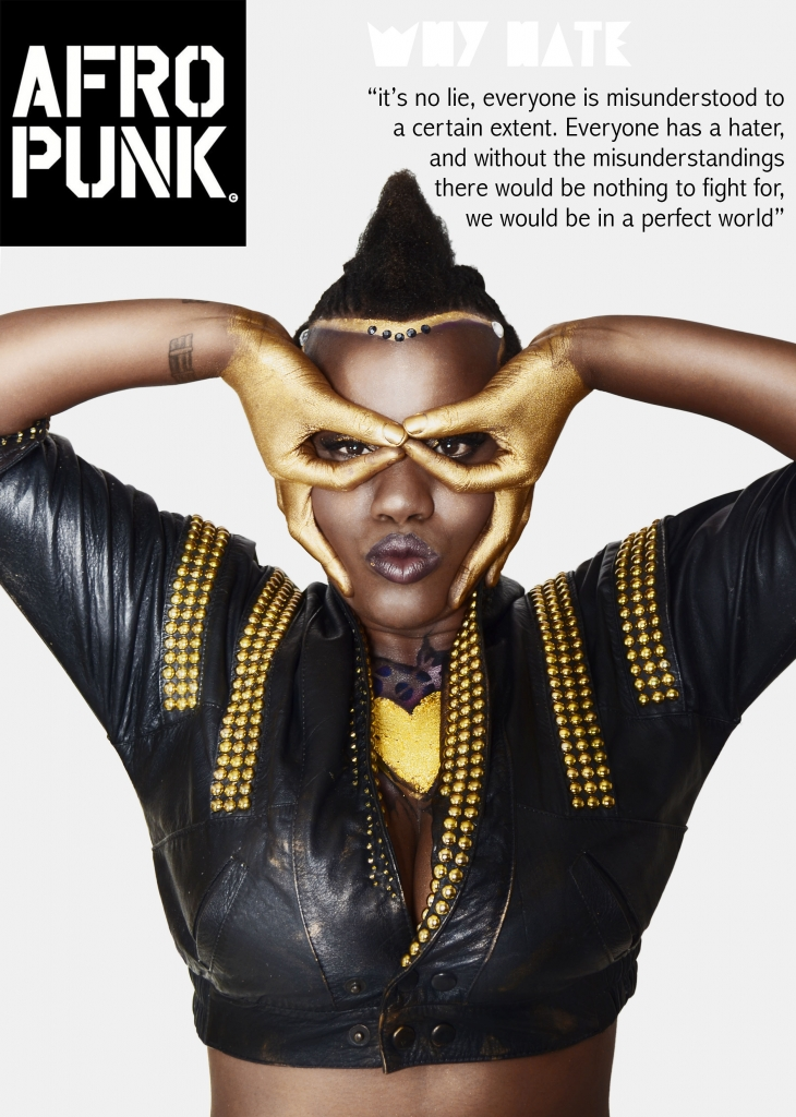 "Toya Delazy for Afropunk on ""Why Hate"""